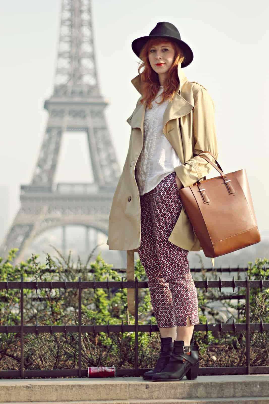 weekend w Paryżu stylizacja