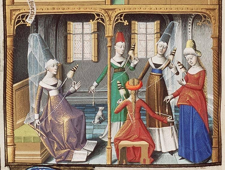 sredniowieczne kobiety