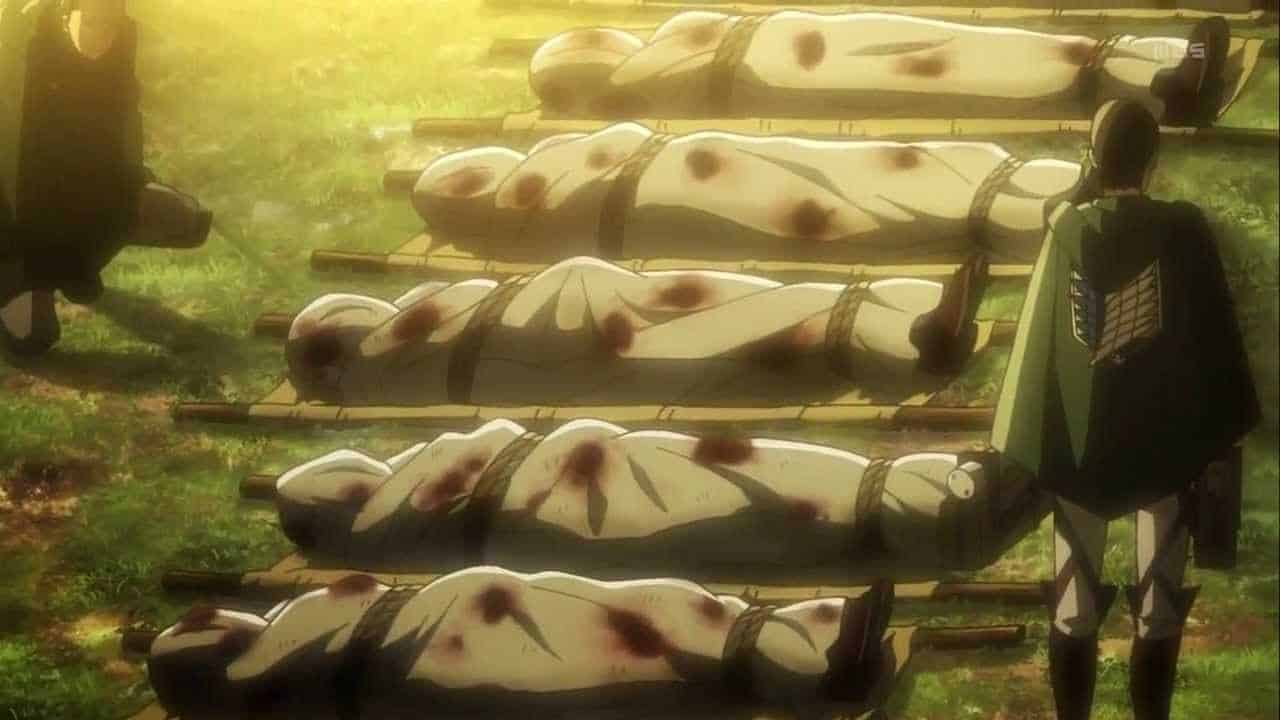 attack on titan death