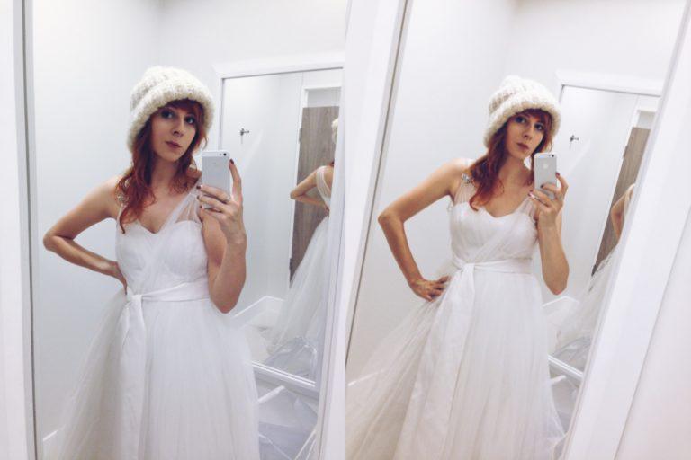 Suknie ślubne, których nie kupiłam